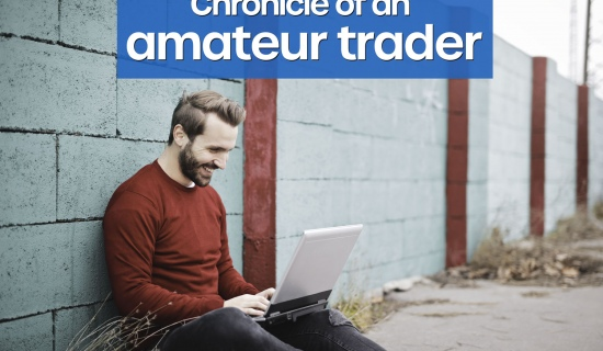 Starting out on the stock market: Chronicle of an amateur trader