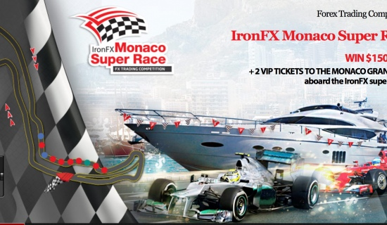 Forex Trading Competition IronFX Monaco Super Race