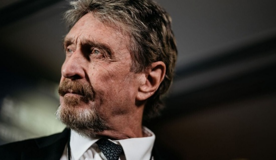 John McAfee arrested on tax evasion charges