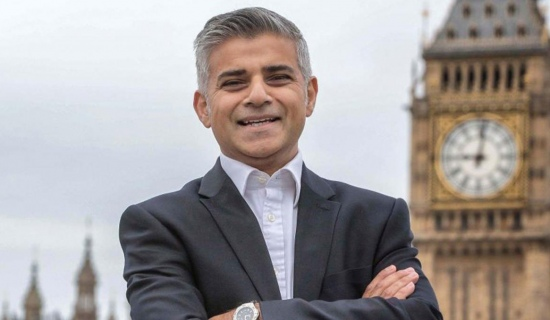Sadiq Khan: the new mayor of London