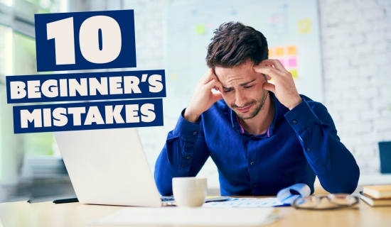 Trading: the 10 beginner's mistakes you need to avoid!