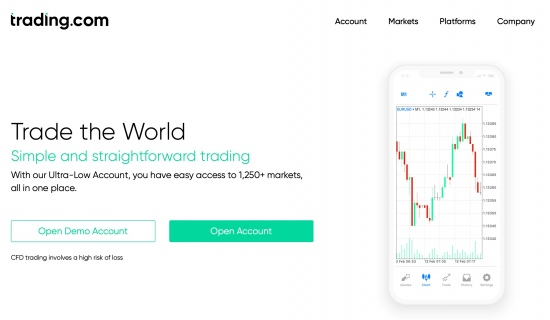 XM launches new platform Trading.com